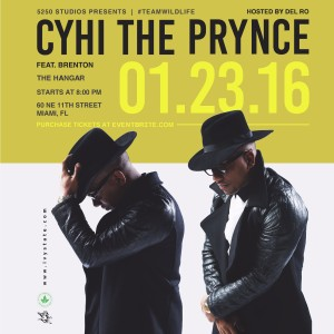 Cyhi The Prynce @ The Hangar